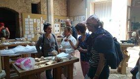En la Escuela de Arte y Superior de Diseño de Segovia, Casa de los Picos