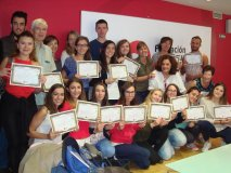 Fin de curso y entrega de Certificados