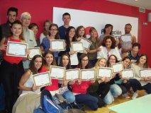 Fin de curso y entrega de Certificados