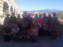 Excursión Segovia con el acueducto romano al fondo