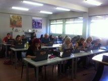 Primer día de clase, test de nivel