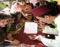 Taller de escritura en la I Feria de la Juventud de Cuéllar