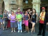 Grupo de visita por Valladolid