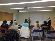 Buena participación en el Taller de Reflexión por el Día Internacional de la Mujer en el Centro de Santa Marta de Tormes