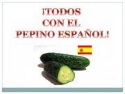 Todos con el pepino español