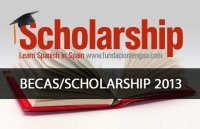 2013 Scholarships and Spanish courses
