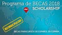Scholarship / Becas 2018