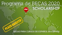 Scholarship / Becas 2020