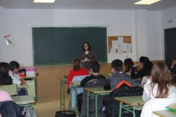 El CIL de Santa Marta de Tormes en Salamanca empieza el 2011 trabajando la sensibilización intercultural en el I.E.S. Torrente Ballester.