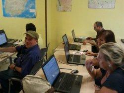 Un centenar de personas ha participado en los cursos de informática del Programa Iníci@te en Trobajo del Camino