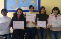 El CIL de Trobajo del Camino entrega los diplomas del Curso de Introducción a Windows Vista