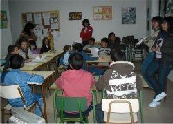 Apoyo escolar y lingúístico en el CIL de Arévalo