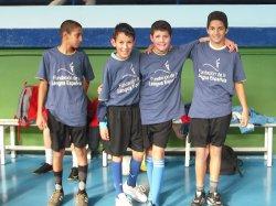 El CIL de Arévalo organiza un equipo de fútbol-sala con el patrocinio de la Fundación de la Lengua Española