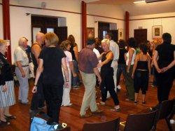 Representación del grupo de teatro Habber para el Centro de Integración Local de Arévalo