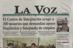 La Voz de Benavente lleva a su portada al CIL de la localidad