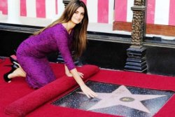Penélope Cruz, estrella en el Paseo de la Fama