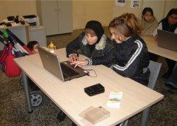 Alfabetización informática para adultos en el CIL de Briviesca