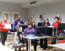 Cien personas han participado en los cursos de informática del Programa Iníci@te en Briviesca