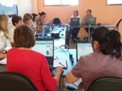 Cien personas han participado en los cursos de informática del Programa Iníci@te en El Burgo de Osma