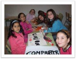 Talleres de manualidades y juegos interculturales en el CIL de El Burgo de Osma