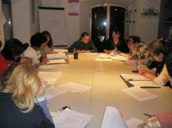Comienzo de la fase práctica en el curso de auxiliar de geriatría