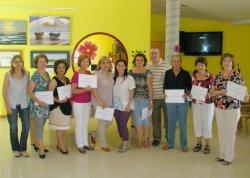 Diez alumnos reciben los primeros diplomas del Programa Iníci@te
