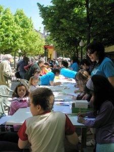 El Centro de Integración de Cuéllar participa y colabora en la III Feria de la Juventud de la Villa de Cuéllar