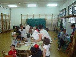 El Centro de Integración Local de la Fundación de la Lengua Española en Ponferrada participa en la Semana Intercultural del colegio Campo de la Cruz.