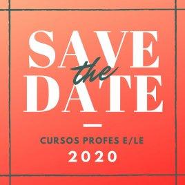 Curso profesores E/LE 2020:  26 a 30 de octubre