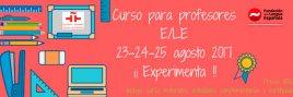 Formación de profesores de Español como Lengua Extranjera