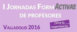 I Jornadas FormActivas de Profesores