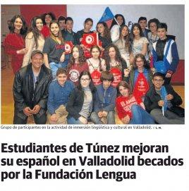 Estudiantes de Túnez mejoran su español en la Fundación