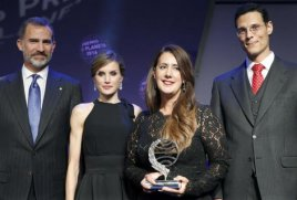 Dolores Redondo, ganadora del Premio Planeta 2016