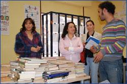 El Ayuntamiento de San Andrés del Rabanedo dona 300 libros al CIL de Trobajo del Camino