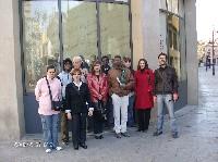 El Centro de Integración de Trobajo del Camino visita el Museo de León