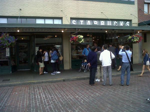 el primer Starbucks de la historia