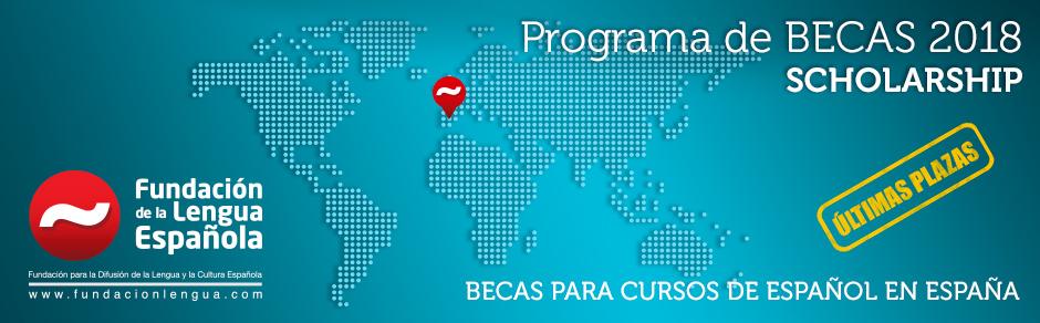 Scholarship/Becas 2018