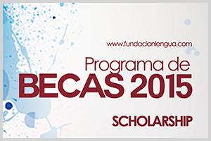 Scholarship / Becas 2015