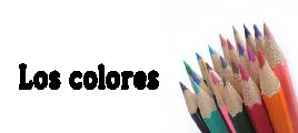 Infantil - Los colores