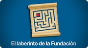 The labyrinth of the Fundación