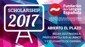 Becas de estudios Fundación de la Lengua Española